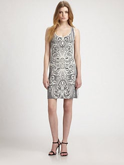 Grayse - Printed Tank Dress