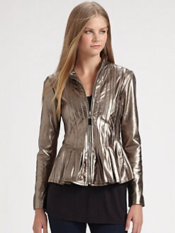 Royal Underground - Shimmer Leather Blazer