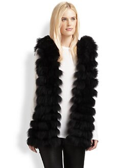 Royal Underground - Hooded Fur Vest