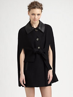 Rachel Zoe - Jeni Tie-Front Cape