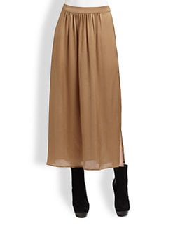Rachel Zoe - Delphine Silk Midi Skirt