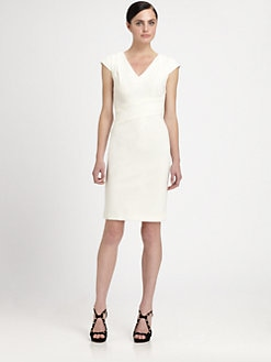 Rebecca Taylor - Asymmetrical Sheath Dress