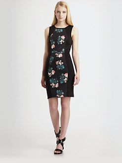 Sachin + Babi - Dulce Floral Panel Dress