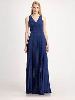Sachin + Babi - Sevilla Pleated Maxi Dress