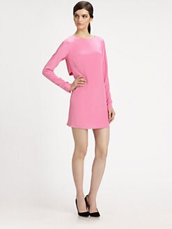 Tibi - Silk Shift Dress
