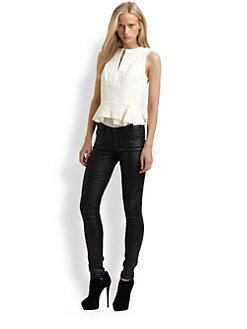 Robert Rodriguez - Folded Peplum Top