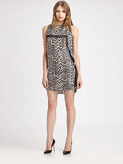 Robert Rodriguez - Animal Print Dress