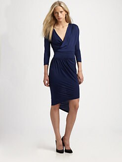 Robert Rodriguez - Asymmetric Draped Dress