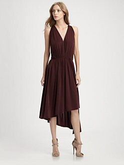 Robert Rodriguez - Asymmetric Jersey Dress