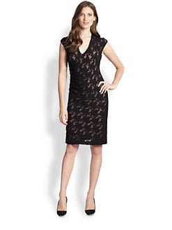 Rebecca Taylor - Stretch Lace Dress