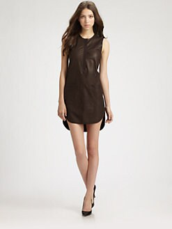Rebecca Taylor - Runway Leather Dress