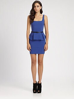 Robert Rodriguez - Peplum Pencil Dress