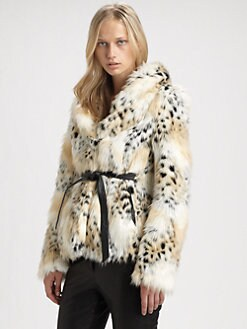 Rachel Zoe - Macgraw Faux Fur Jacket