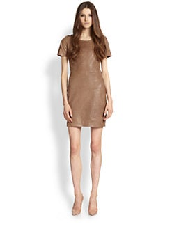 Rachel Zoe - Luella Leather Dress