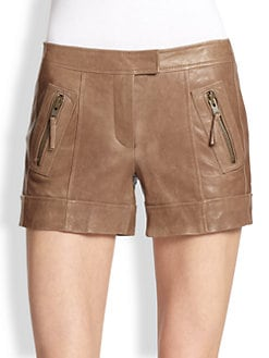Rachel Zoe - Jax Leather Shorts