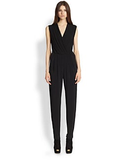 Rachel Zoe - Claudia Stretch Crepe Jumpsuit