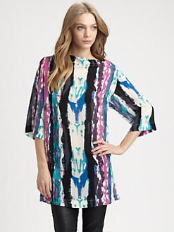 Zimmermann - Flip Side Pressed Paint Tunic