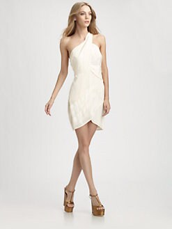 Zimmermann - Silk One-Shoulder Dress