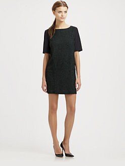 Tibi - Stella Tweed Dress