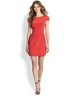 Tibi - Silk Low-Back Dress
