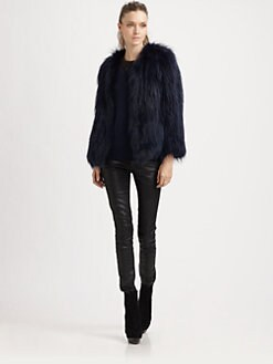 Sachin + Babi - Isla Raccoon Fur Jacket