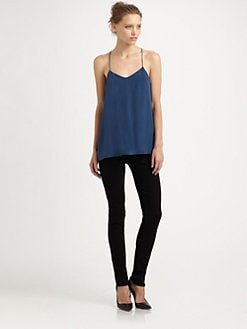 Tibi - Solid Silk Camisole