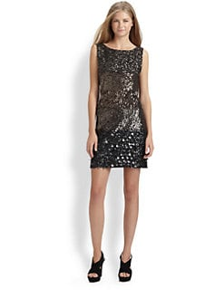 Royal Underground - Sequined Mini Dress
