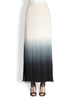 By Malene Birger - Tamusa Ombre Silk Maxi Skirt