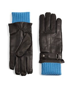 Portolano - Leather & Knit Gloves