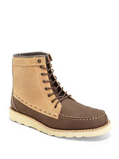 Penguin - Grinder Colorblock Leather Boots