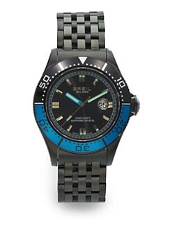 Breil - Manta 1970 Stainless Watch/Black