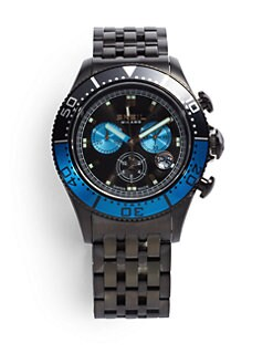 Breil - Manta 1970 Stainless Steel Chronograph Watch/Black
