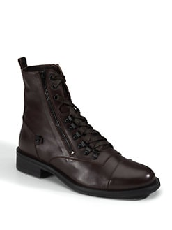 Rock & Republic - Icaro Lace-Up Zip Boots