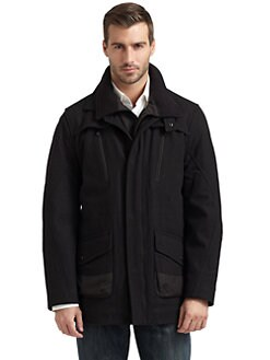 T-Tech by Tumi - Layered Collar Jacket