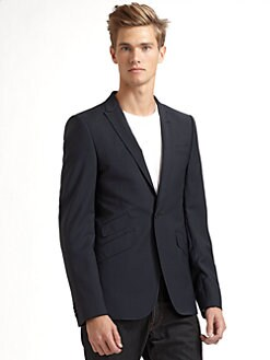 J. Lindeberg - Nixon Wool Suit Jacket/Blue
