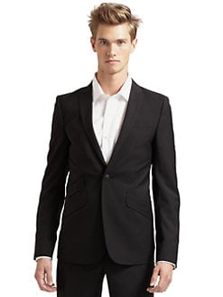 J. Lindeberg - Nixon Wool Suit Jacket/Black