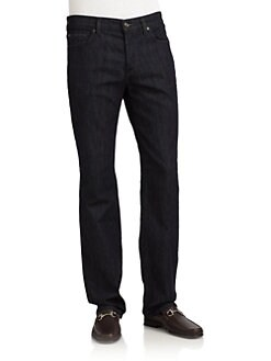 7 For All Mankind - Standard Straight-Leg Jeans/Beddington