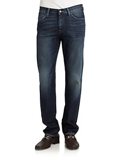 7 For All Mankind - Slimmy Straight-Leg Jeans/Gridley