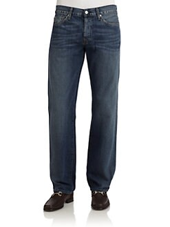 7 For All Mankind - Standard Straight-Leg Jeans/Imperial Beach