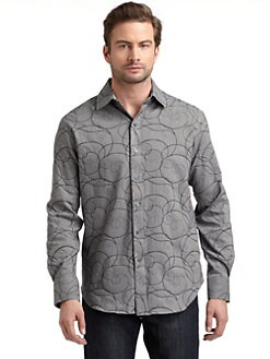 Robert Graham - Swirl Pattern Button-Down Shirt
