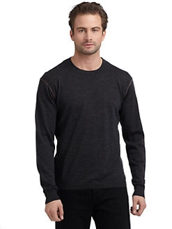 Robert Graham - Gladstone Wool Contrast Seam Top