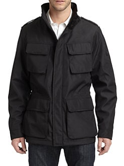 T-Tech by Tumi - Micro Bonded Snap Pocket Jacket