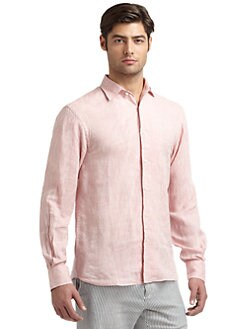 Scott James - Neil Linen Sportshirt