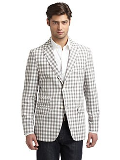 Scott James - Alec Gingham Jacket