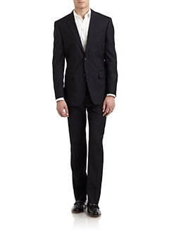 Valentino - Wool Two-Button Suit/Slim-Fit