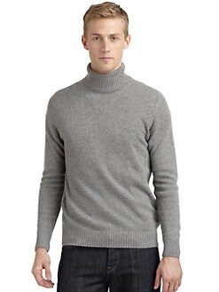 Calvin Klein Collection - Turtleneck Sweater/Slim-Fit