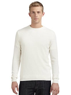 Calvin Klein Collection - Crewneck Sweater/Slim-Fit