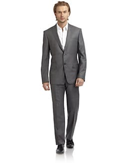 Versace Collection - Cotton-Blend Suit/Slim-Fit