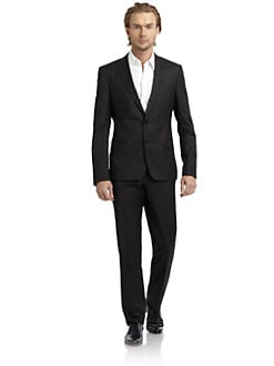 Versace Collection - Wool-Blend Suit/Slim-Fit