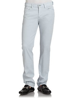 7 For All Mankind - Slimmy Straight Leg Denim Jeans